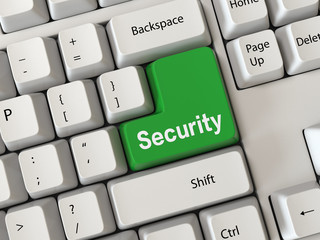 Keyboard with a word security