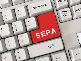 Keyboard with a word sepa