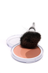 Bronzer and brush