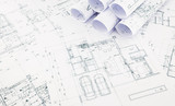 blueprints, floor plan and house plan
