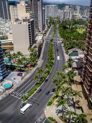 Ala Moana Boulevard in Waikiki