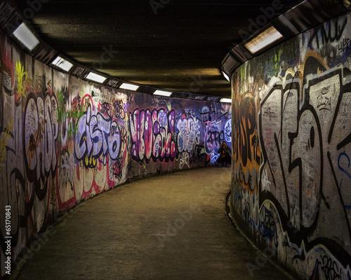Leinwandbild Motiv Subway Art