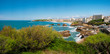 Leinwanddruck Bild - Biarritz view