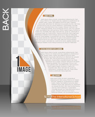 The International School Back Flyer & Poster Template