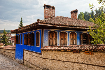 Traditional Koprivshtitsa House in Bulgaria
