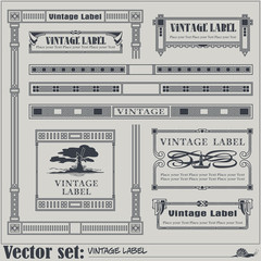 Border style labels on different topics