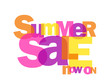 """SUMMER SALE NOW ON"" (special offers marketing advertising)"