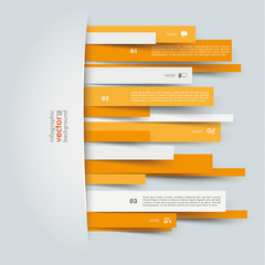 Convert Orange Paper Stripes