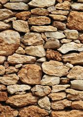 Steinmauer rustikal