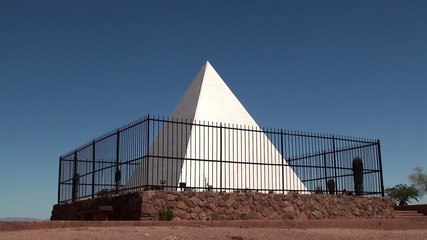 Hunt's Tomb at Papago Park. Phoenix, Arizona, USA.