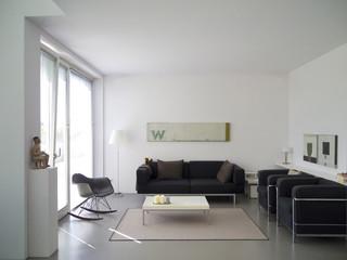 Modernes Wohnzimmer Ausschnitt
