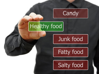 Choose healty food
