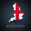England map - British map