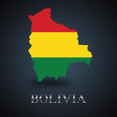 Bolivia map - Bolivian map