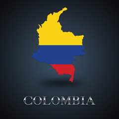 Colombia map - Colombian map
