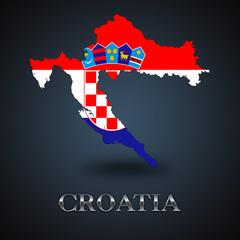 Croatia map - Croatian map