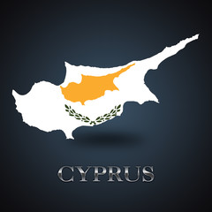 Cyprus map - Cypriot map