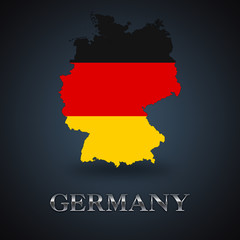 Germany map - German map