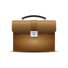 Brown business bag,briefcase,icon