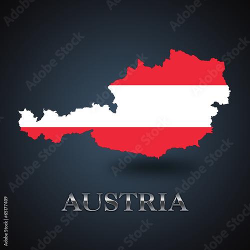Austria map - Austrian map