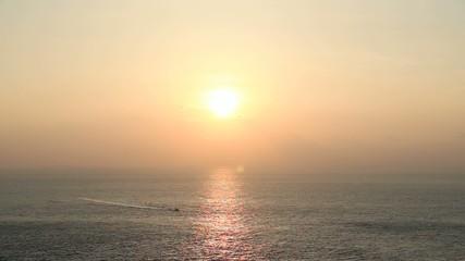 与那国島 日本最西端の夕日