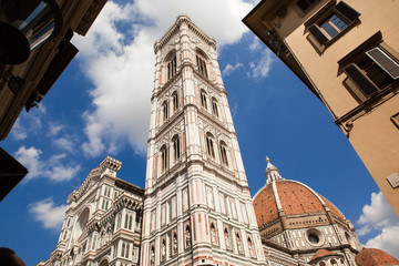 Florence, Italy, St. Maria del Fiore, Dome, tower Giotto