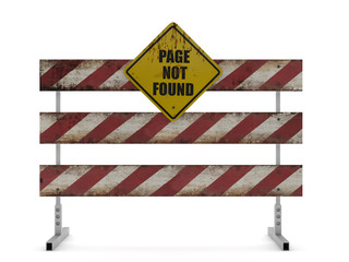 Barrera - Page not Found - Página no Encontrada