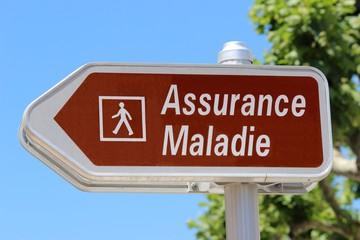 Accès piétonnier ' Assurance Maladie '