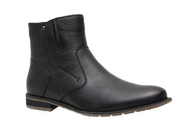 Winter black men's shoes