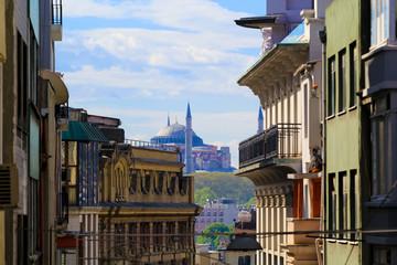Narrow Istanbul street