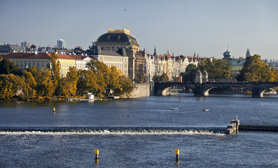 Prague, Czech Republic, The National Theater