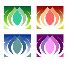 lotus, floral, flower, flowers, logo, logotype, garden