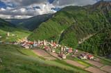 Fototapeta village