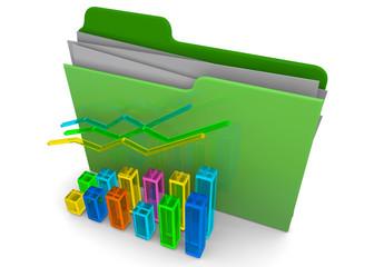 Business Folder - 3D
