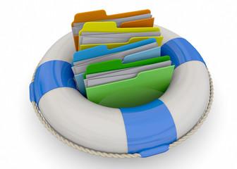 Safely Folder Concept - 3D