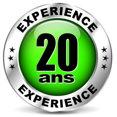 20 ans d'experience