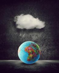cloud over africa