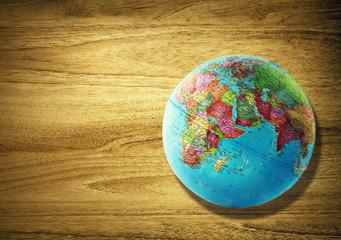 planet globe desk