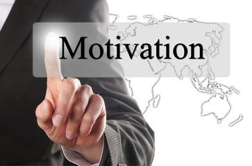 pressing motivation button