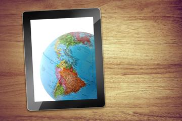 USA desk tablet