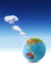 world clouds