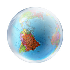USA inside bubble