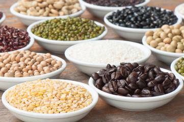 soybean and grain crop