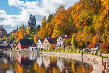 Autumnal Cesky Krumlov