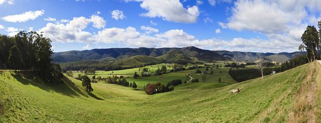Tasmania Mt VIctoria Valley Panorama