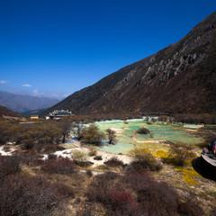 China Huanglong landforms