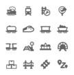 Trains Icons - 65187471