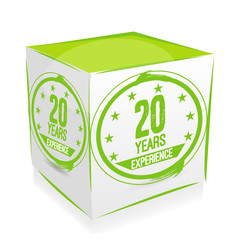 cube 20 years experience