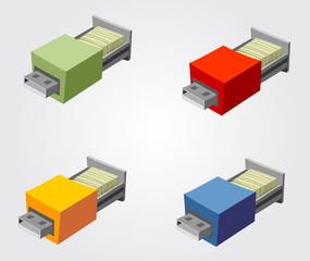 Pen drie archivador