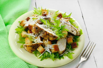 Caesar chicken salad